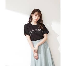 ビッグロゴTシャツ ブラック