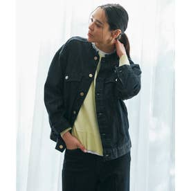 【Sサイズ有】デニム オーバーサイズ ジャケット (ネイビー系)
