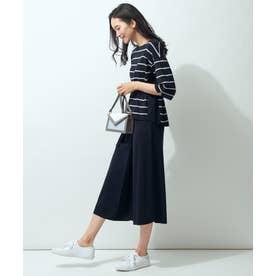 【Sサイズ有】ラップスカート セットアップ (ネイビー系1)