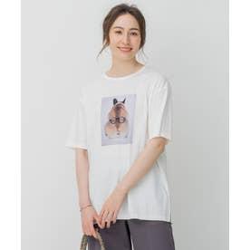 旅するフォト Tシャツ (ホワイト系)