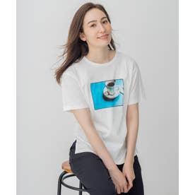 旅するフォト Tシャツ (ホワイト系1)