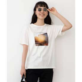 旅するフォト Tシャツ (ホワイト系2)