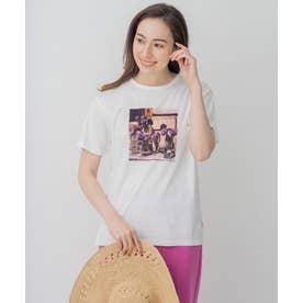 旅するフォト Tシャツ (ホワイト系3)