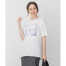 旅するフォト Tシャツ (ホワイト系4)