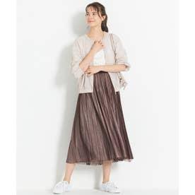【新色追加】チュールプリーツ リバーシブルスカート(検索番号A47) (ピンク)