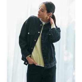 デニム オーバーサイズ ジャケット (ネイビー系)