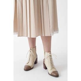[美人百花掲載]◆ティナショートブーツ BEIGE