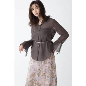 ◆シアーシャツ BROWN