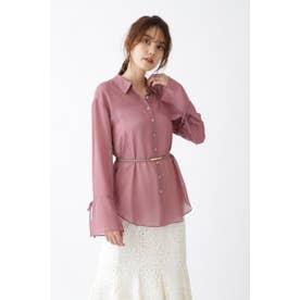 ◆シアーシャツ DUSTY PINK