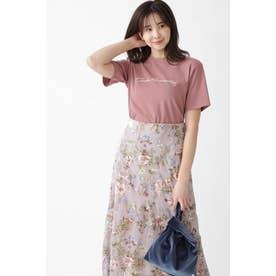 ◆フォールTシャツ DUSTY PINK