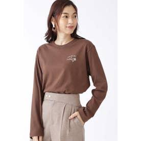 ◆[限定]ロングTシャツ BROWN