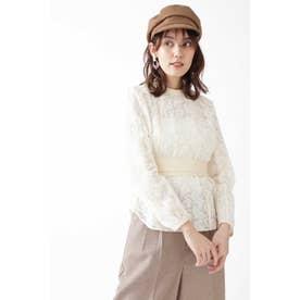 ◆エミリオ刺繍ブラウス OFF WHITE