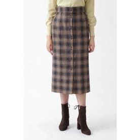◆ベシーチェックタイトスカート BEIGE