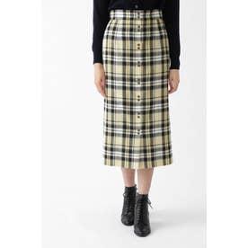 ◆ベシーチェックタイトスカート YELLOW