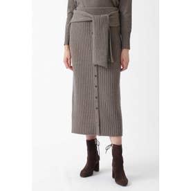 ◆カレンセットアップニットスカート BROWN