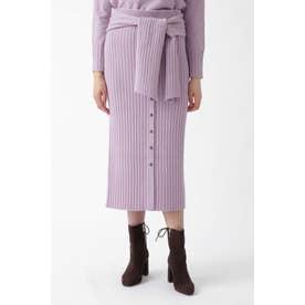 ◆カレンセットアップニットスカート PURPLE