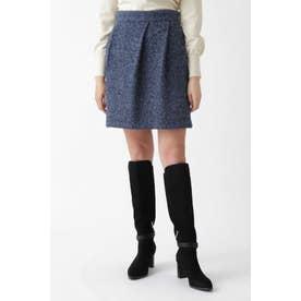 ◆マイラツイードスカート BLUE