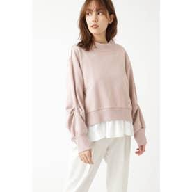 ◆コンビスウェットシャツ BLUSH