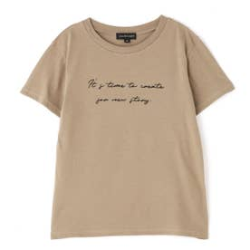 ◆メッセージTシャツ BEIGE