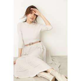 ◆カティアニットドレス BEIGE