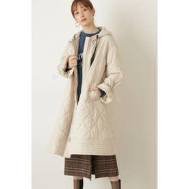 ◆ホリーキルティングコート BEIGE