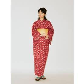 【オリジナル浴衣】小花(レッド)