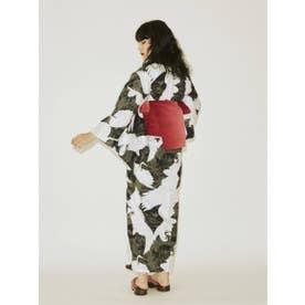 ジャパンパターン浴衣 (BLK)