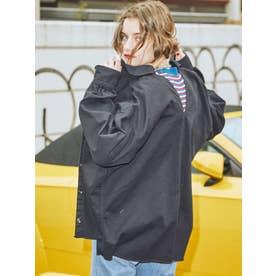 バックチェーンルーズシャツ(ブラック)