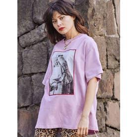 KevinCummins フォト BIG Tシャツ(ピンク)