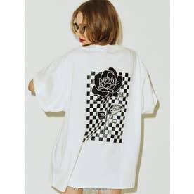 チェッカースーパーBIG Tシャツ(オフホワイト)