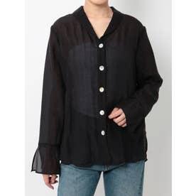 シアージャケットシャツ(ブラック)