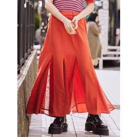 マーメイドスイッチスカート(オレンジ)