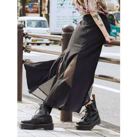 マーメイドスイッチスカート(ブラック)