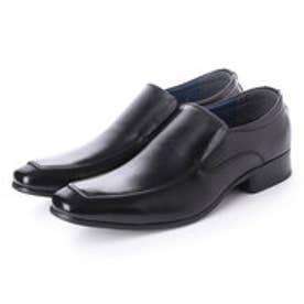 日本製 本革 メンズ ビジネスシューズ 紳士靴 (ブラック)