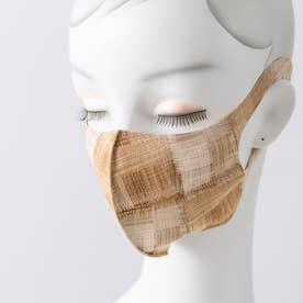 『2枚セット』デザインマスク【返品不可商品】 (ベージュ系)