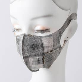 『2枚セット』デザインマスク【返品不可商品】 (ブラック系)