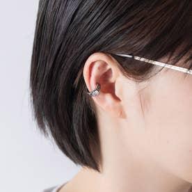 デザインイヤーカフ ステンレス 両耳 (シルバー)