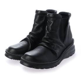 軽量シャーリングサイドゴアブーツ (ブラック)
