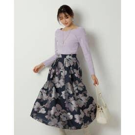 シアージャガードスカート (紺)