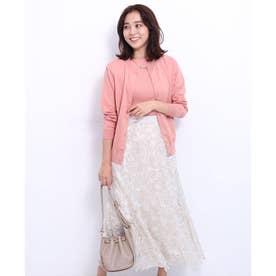 エアリー刺繍スカート (オフ白)
