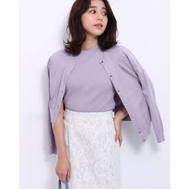マント風アンサンブル (薄紫)