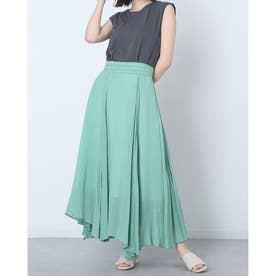 Tシャツ&スカートSET (グリーン)