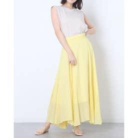 Tシャツ&スカートSET (黄)