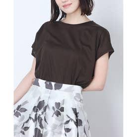 ゆるTシャツ (茶)