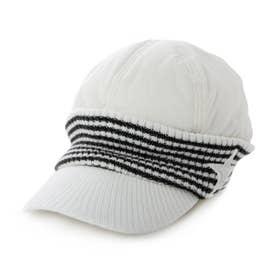 レディース ゴルフ キャップ ツバ付ニット帽子 KO-1C2501KC (他)