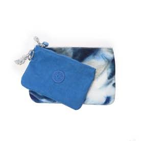 DUO POUCH (Tie Dye Blue)