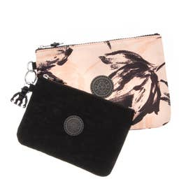 DUO POUCH (Coral Flower)