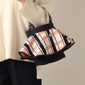 トリコテ TRICOTE SKIRT BAG (Keiko Plaid Bl)