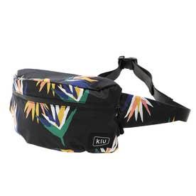 WATERPROOF BODY BAG MINIウォータープルーフボディバッグミニ (K66-158.南国花鳥BK)