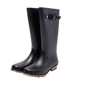 ロング レインブーツ LONG RAIN BOOTS (K83-900.ブラック)